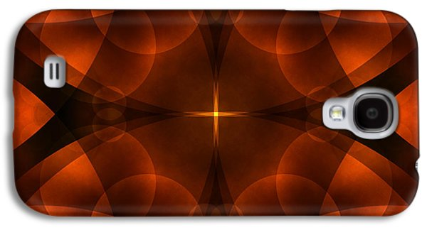 Earth Tones Galaxy S4 Cases - Worlds Collide 16 Galaxy S4 Case by Mike McGlothlen