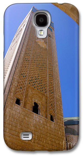 Worlds Tallest Minaret At 210m Hassan II Mosque Grand Mosque Sour Jdid Casablanca Morocco Galaxy S4 Case by Ralph A  Ledergerber-Photography