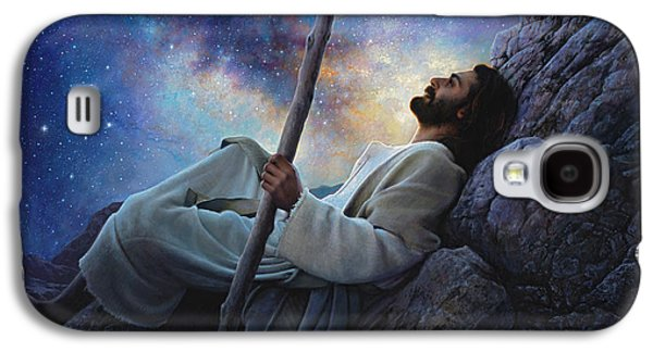 Jesus Art Galaxy S4 Cases - Worlds Without End Galaxy S4 Case by Greg Olsen