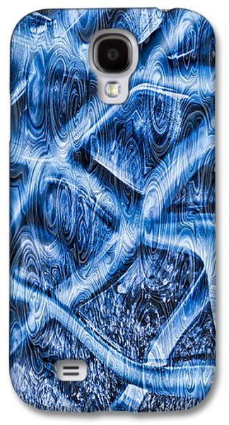 Abstract Digital Mixed Media Galaxy S4 Cases - Woven Beauty Galaxy S4 Case by Omaste Witkowski