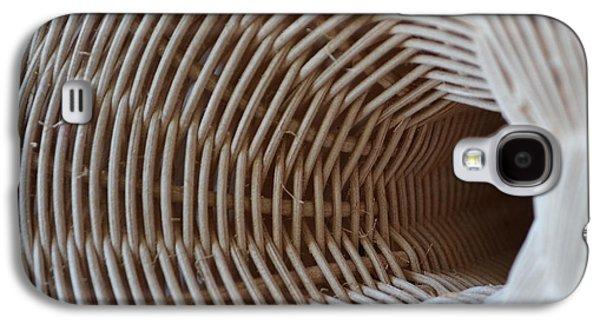 Entrances Sculptures Galaxy S4 Cases - Woven Tunnel II Galaxy S4 Case by Daniel P Cronin