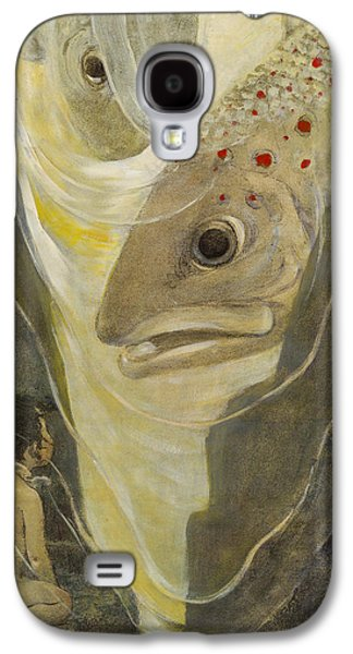 Fun Drawings Galaxy S4 Cases - Wow Giants Circa 1916 Galaxy S4 Case by Aged Pixel