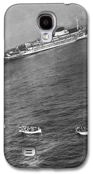 Wreck Of The Andrea Doria Galaxy S4 Case by Ollie Noonan