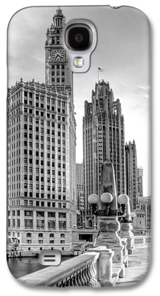 Art Sale Galaxy S4 Cases - Wrigley and Tribune Galaxy S4 Case by Scott Norris