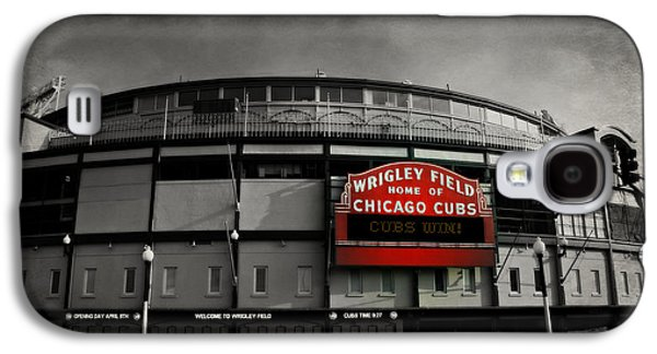 Sports Photographs Galaxy S4 Cases - Wrigley Field Galaxy S4 Case by Stephen Stookey
