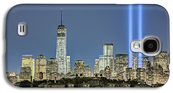 Wtc 11 Galaxy S4 Cases - WTC Tribute In Lights Galaxy S4 Case by Susan Candelario