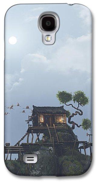 Fog Mist Galaxy S4 Cases - Wu Fangzi Galaxy S4 Case by Cynthia Decker