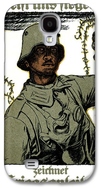Wwi Paintings Galaxy S4 Cases - WWI German War Bond Poster Galaxy S4 Case by Historic Image