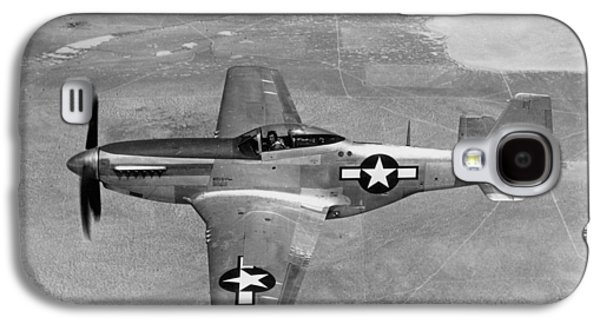 P51 Photographs Galaxy S4 Cases - Wwii: Mustang Fighter Galaxy S4 Case by Granger
