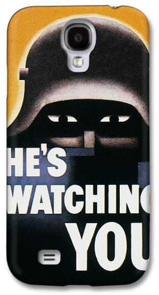 Anti-discrimination Galaxy S4 Cases - Wwii: Propaganda Poster Galaxy S4 Case by Granger