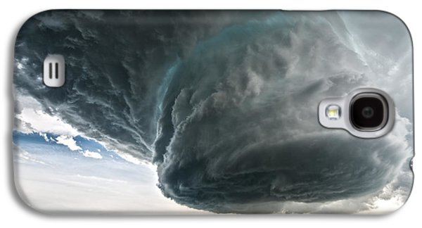 Rain Storm Galaxy S4 Cases - Wyoming Beauty Galaxy S4 Case by Colt Forney