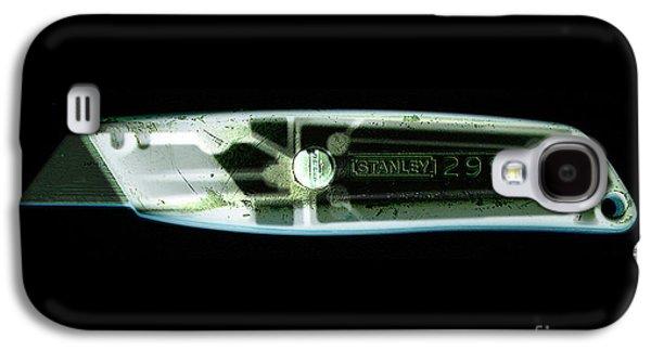 Terrorism Galaxy S4 Cases - X-ray Of A Boxcutters Galaxy S4 Case by Scott Camazine