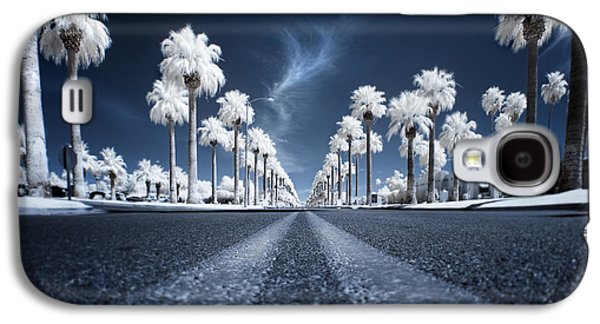 Trees Photographs Galaxy S4 Cases - X Galaxy S4 Case by Sean Foster
