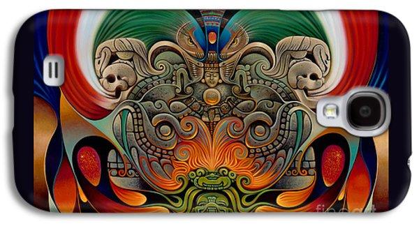 Xiuhcoatl The Fire Serpent Galaxy S4 Case by Ricardo Chavez-Mendez