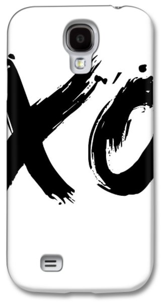 Gig Galaxy S4 Cases - XO Poster White Galaxy S4 Case by Naxart Studio