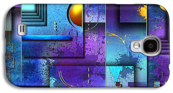 Recently Sold -  - Abstract Digital Digital Galaxy S4 Cases - Xxx Galaxy S4 Case by Franziskus Pfleghart