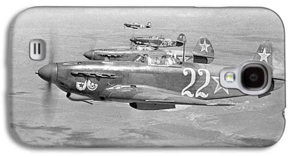 Yakovlev Yak-9 Fighters, 1942 Galaxy S4 Case by Ria Novosti
