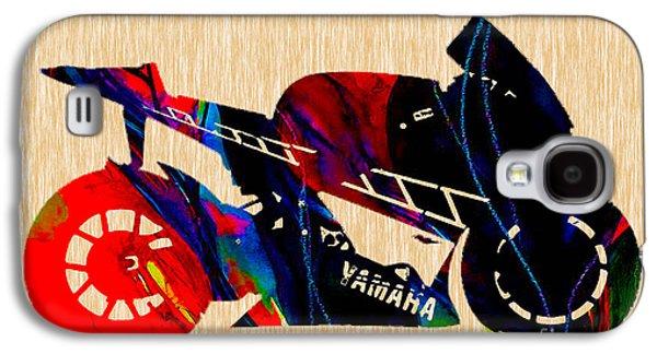 Yamaha Ninja Motorcycle Galaxy S4 Case by Marvin Blaine