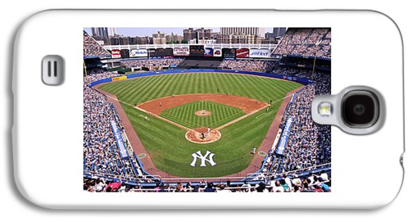 City Scene Galaxy S4 Cases - Yankee Stadium Galaxy S4 Case by Allen Beatty