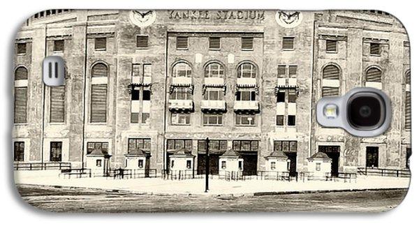 Yankee Stadium Galaxy S4 Case by Bill Cannon