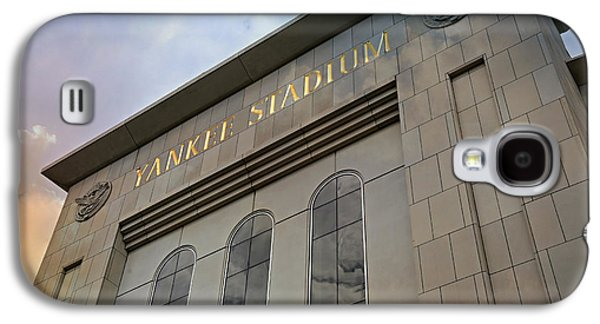 Sports Photographs Galaxy S4 Cases - Yankee Stadium Galaxy S4 Case by Stephen Stookey