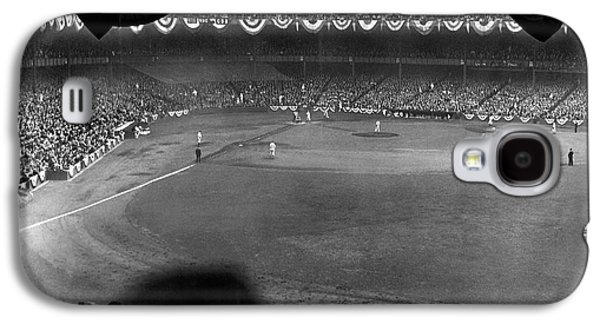 Yankees Defeat Giants Galaxy S4 Case by Underwood Archives