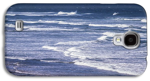 Agate Beach Oregon Galaxy S4 Cases - Yaquina Head Lighthouse  Galaxy S4 Case by Tracy Knauer