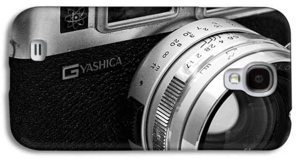 Rangefinder Galaxy S4 Cases - Yashica G Galaxy S4 Case by John Rizzuto