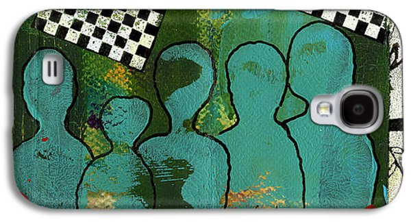 African-american Galaxy S4 Cases - Yeah...But Were The JAZZ Singers Galaxy S4 Case by Angela L Walker