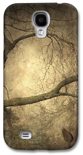 Rabbit Digital Galaxy S4 Cases - Year Of The Rabbit Galaxy S4 Case by Gothicolors Donna Snyder