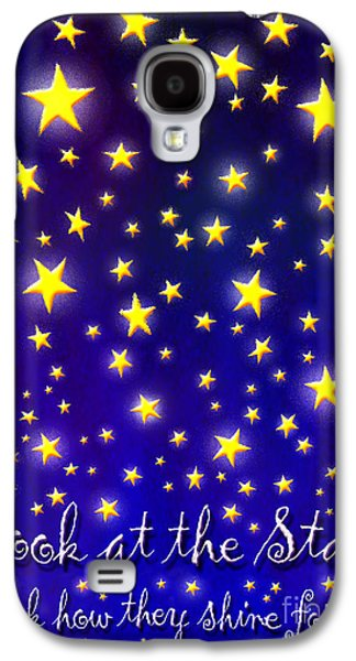 Coldplay Galaxy S4 Cases - Yellow Galaxy S4 Case by Cristophers Dream Artistry