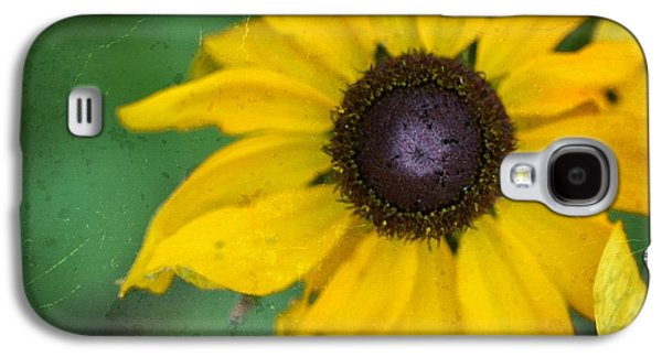 Gardening Photography Galaxy S4 Cases - Yellow Flower Art - Sun Worshiper by Sharon Cummings  Galaxy S4 Case by Sharon Cummings