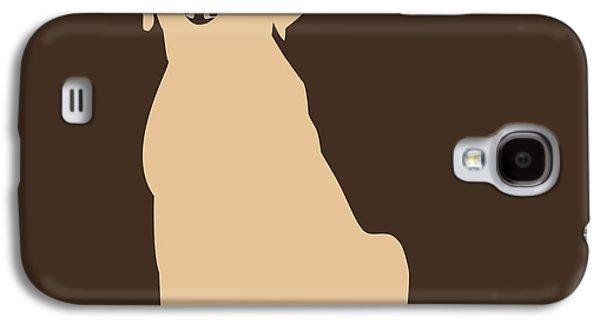Puppy Digital Galaxy S4 Cases - Yellow Labrador Galaxy S4 Case by Elizabeth Harshman