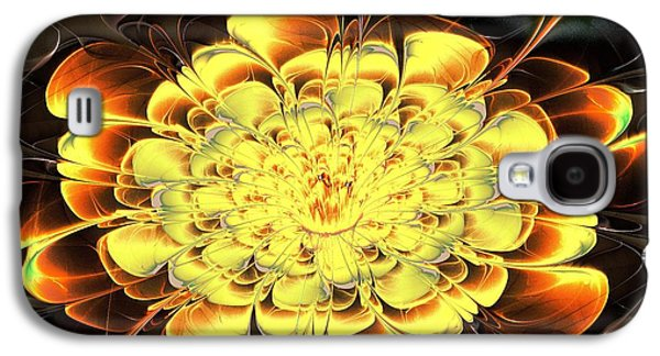 Petals Galaxy S4 Cases - Yellow Water Lily Galaxy S4 Case by Anastasiya Malakhova