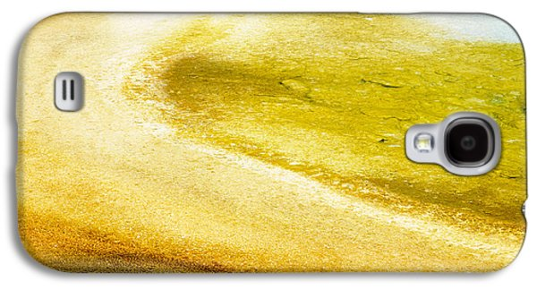 Abstract Fountain Galaxy S4 Cases - Yellowstone abstract spring 2 Galaxy S4 Case by Andy-Kim Moeller