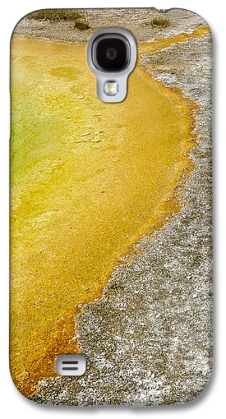 Abstract Fountain Galaxy S4 Cases - Yellowstone Abstract Spring Galaxy S4 Case by Andy-Kim Moeller