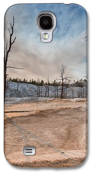 Sun Galaxy S4 Cases - Yellowstone Desolation Galaxy S4 Case by Andres Leon