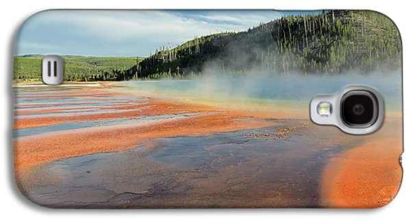 Mud Season Galaxy S4 Cases - Yellowstone Geyser Galaxy S4 Case by Mountain Dreams