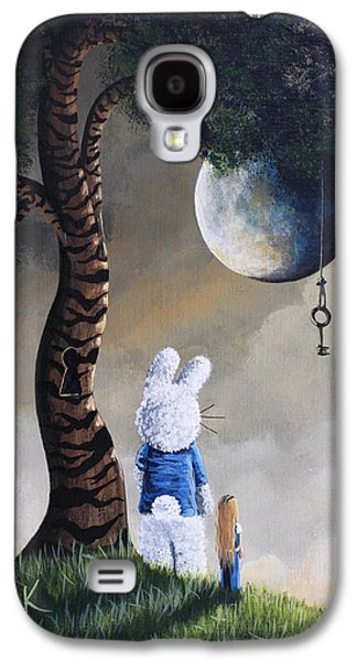 Dreamscape Galaxy S4 Cases - Alice In Wonderland Artwork - Fairytale Paintings Galaxy S4 Case by Shawna Erback