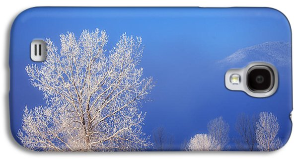 Winter Prints Galaxy S4 Cases - Yesterdays Blues Galaxy S4 Case by Darren  White