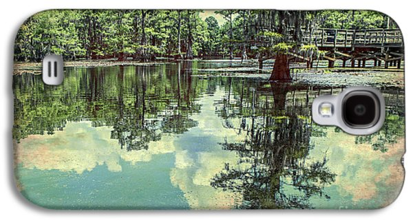 Tamyra Ayles Galaxy S4 Cases - Yesteryear at Caddo Lake Galaxy S4 Case by Tamyra Ayles