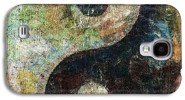 Yang Galaxy S4 Cases - Yin and Yang Galaxy S4 Case by Michael Creese