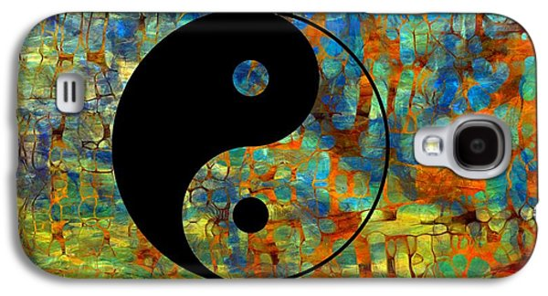 Yin Yang Abstract Galaxy S4 Case by Dan Sproul