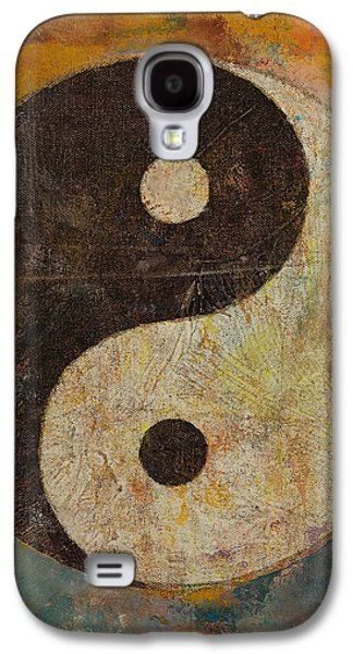Yang Galaxy S4 Cases - Yin Yang Galaxy S4 Case by Michael Creese