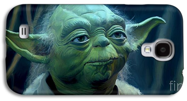 Fight Digital Art Galaxy S4 Cases - Yoda Galaxy S4 Case by Paul Tagliamonte
