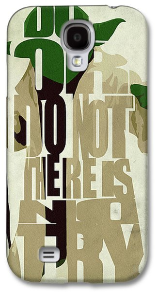 Minimalist Poster Galaxy S4 Cases - Yoda - Star Wars Galaxy S4 Case by Ayse Deniz