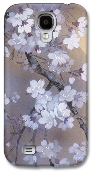 Evening Digital Galaxy S4 Cases - Yoi Crop Galaxy S4 Case by Haruyo Morita