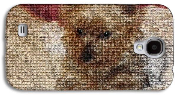 Yorkiehood Galaxy S4 Case by Betty LaRue