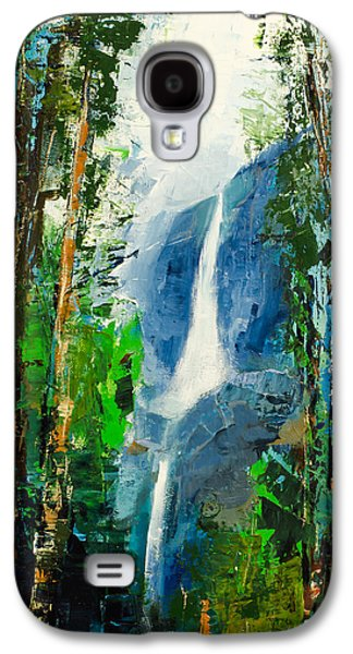 Personalize Galaxy S4 Cases - Yosemite Falls Galaxy S4 Case by Elise Palmigiani