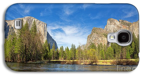 Cathedral Rock Galaxy S4 Cases - Yosemite Galaxy S4 Case by Jane Rix